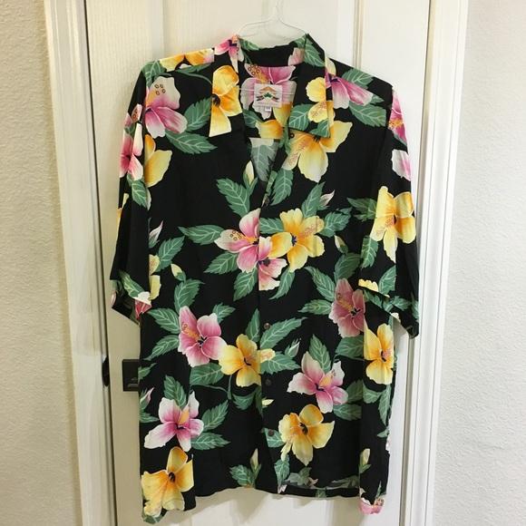 30f39e05e Pineapple Juice Shirts   Hawaiian Shirt Aloha Hibiscus Xxl   Poshmark